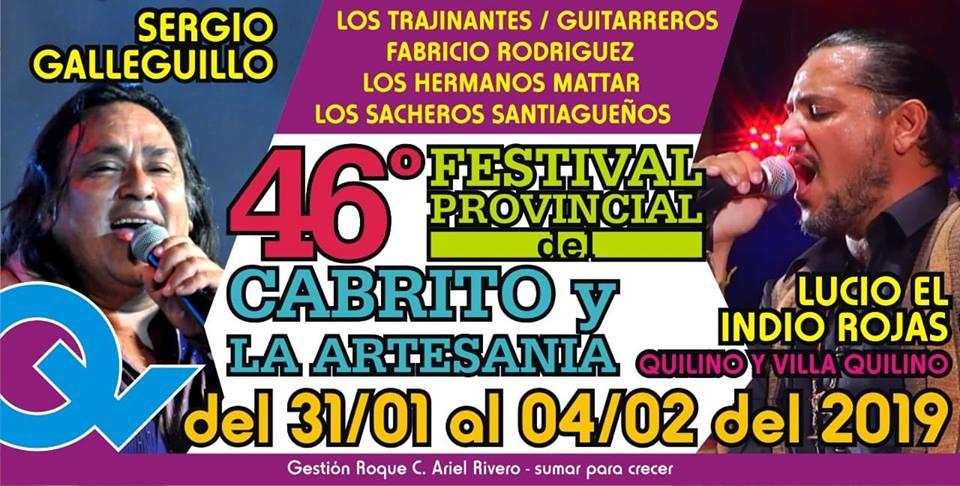 46º Festival del Cabrito y la Artesanía de Quilino y Villa Quilino