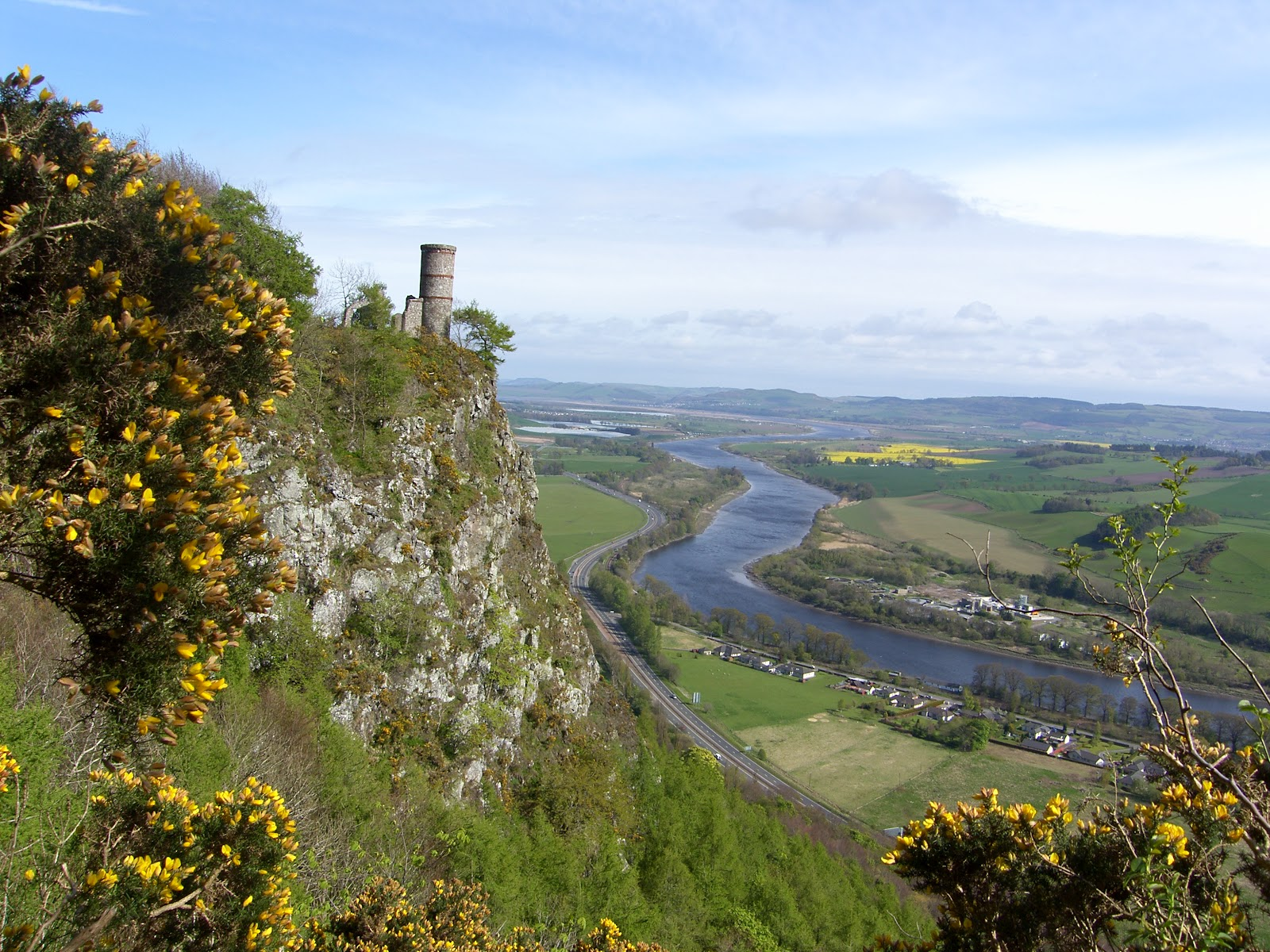 Google map for directions to Kinnoull Hill