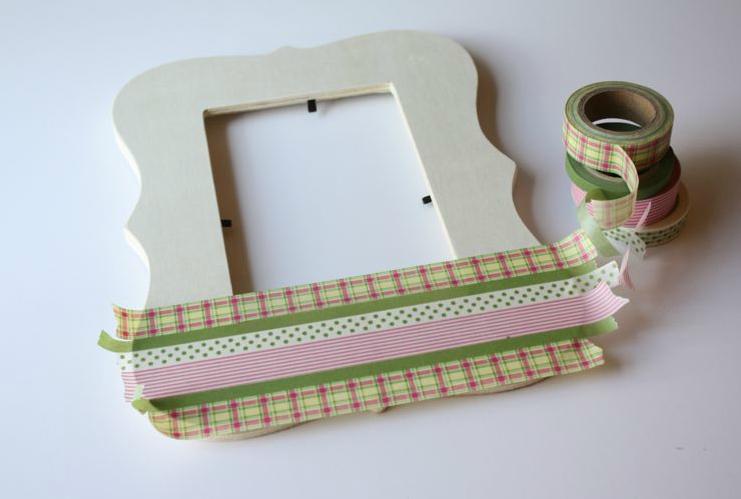 Preferenza washi tape frame tutorial-craft it forward! QN68