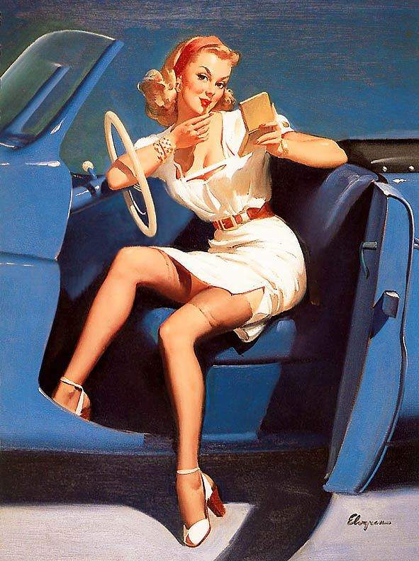 pin up girl pictures gil elvgren 1940 39 s pin up girls. Black Bedroom Furniture Sets. Home Design Ideas