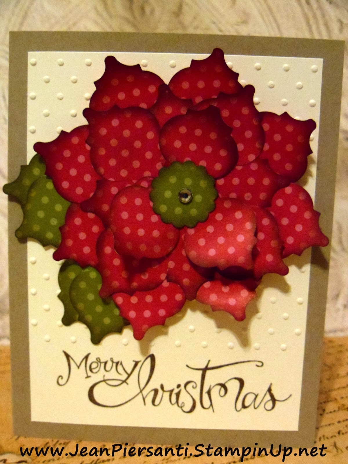 Beauty and the Stamper - Jean Piersanti - Independent Stampin' Up ...