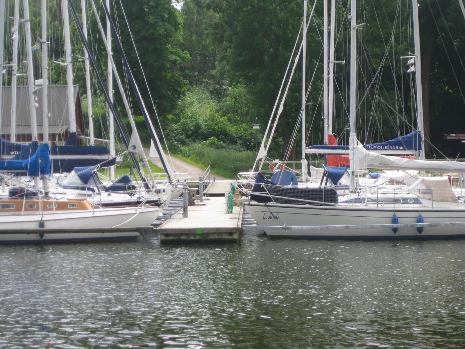 image of bay in Åhus, Sweden