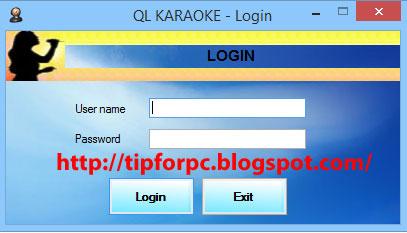 Source C# Mã nguồn Phần Mềm Quản lý quán Karaoke
