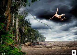 environmental cartoons, environmental ads, WWF,