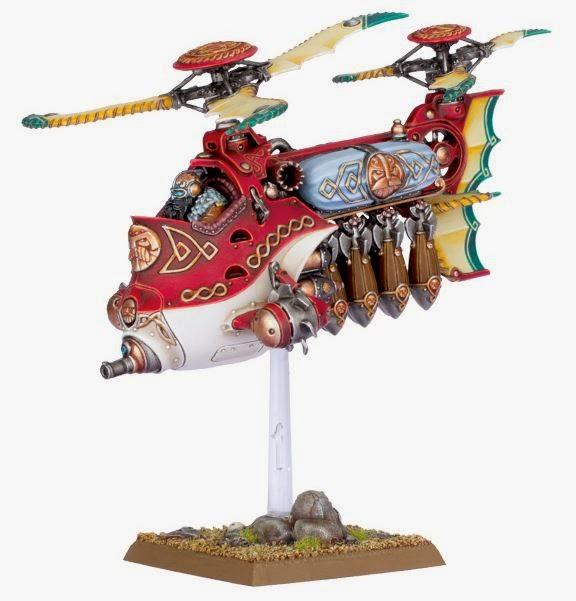 Warhammer Fantasy Gyro bomber