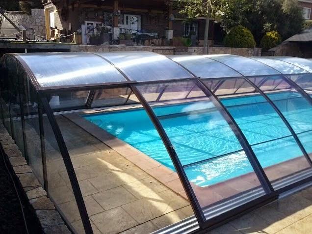 Distintos tipos de cerramientos de piscinas fotos de Cubierta piscina precio