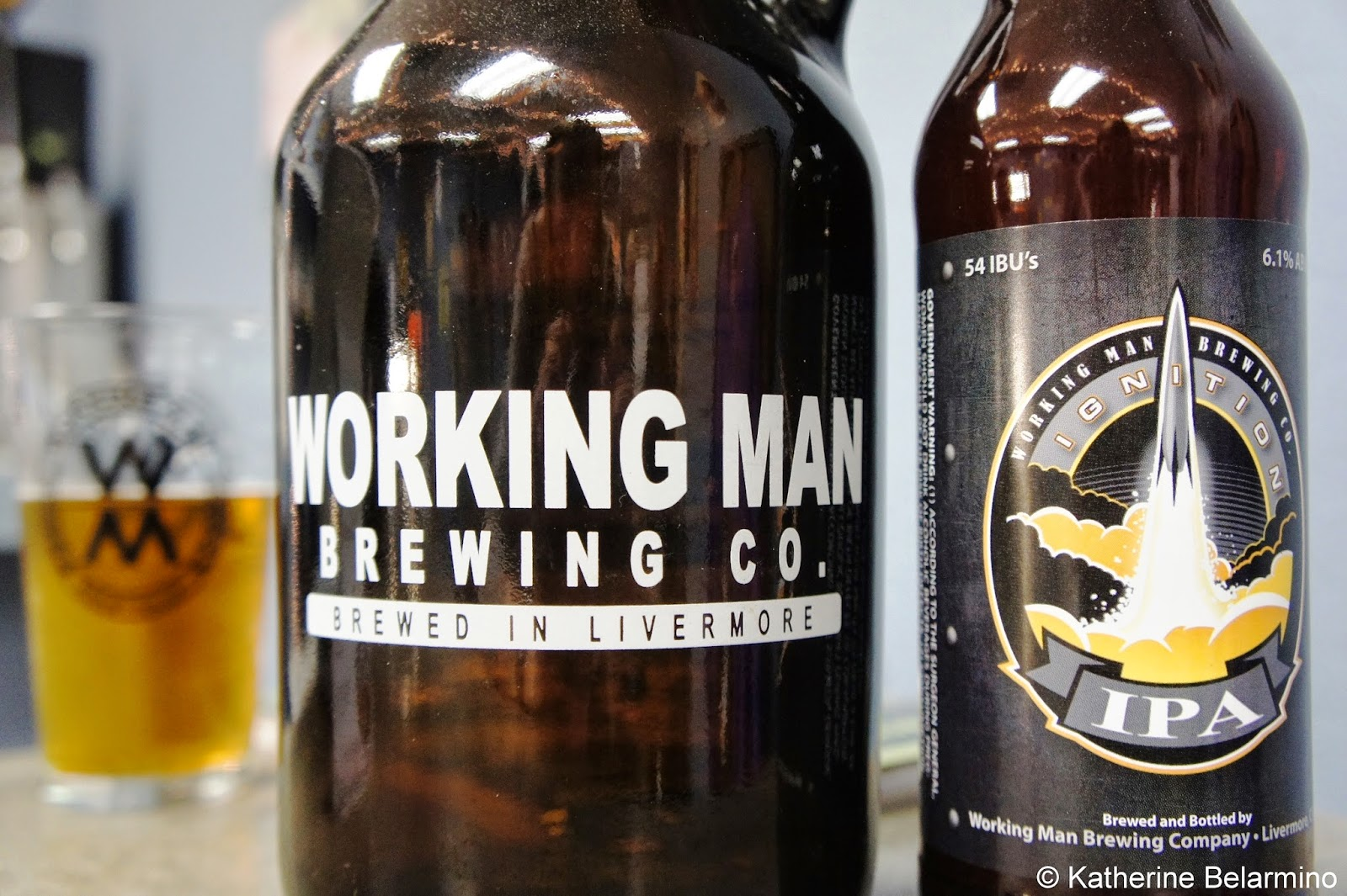 Working Man Brewing Company Livermore California Tri-Valley Beer Trail