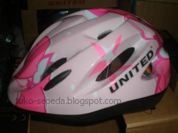 Helm Sepeda Anak Merk United   Aksesoris Sepeda