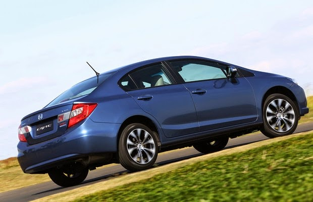 Honda Civic Sedan preço fotos