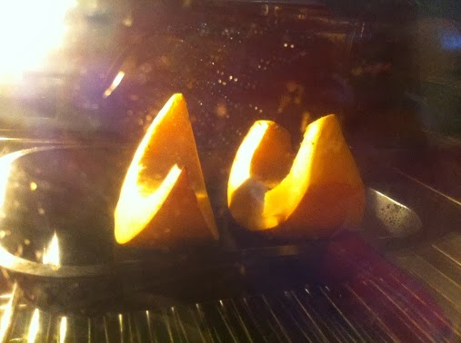 Roasting pumpkins for puree