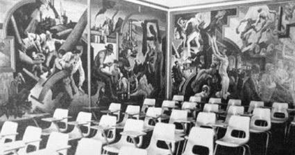 Left bank art blog thomas hart benton s america today for America today mural
