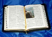 A Biblia  Sagrada.