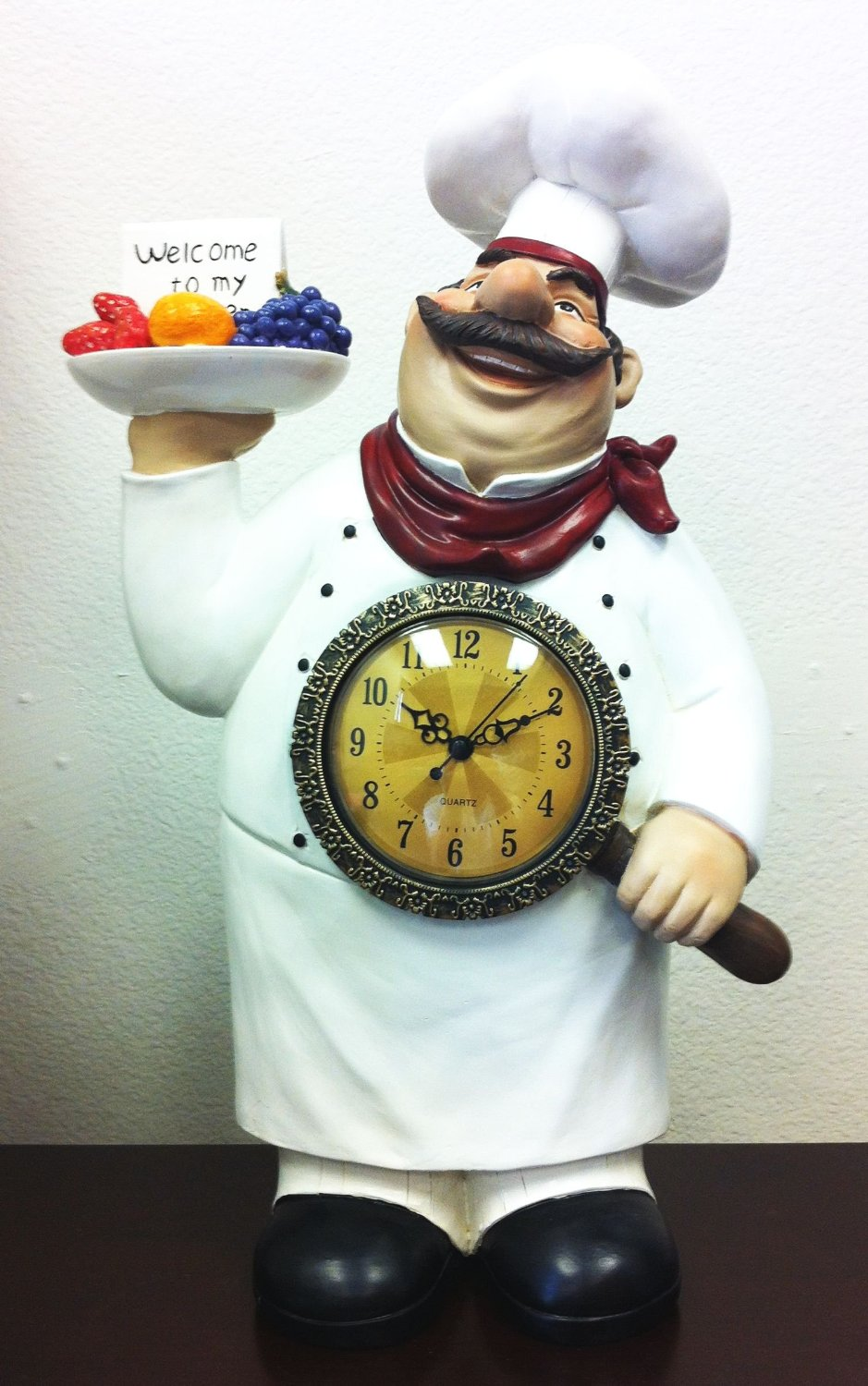 Total Fab Fat Chef Statues A Bit Of Bistro Themed