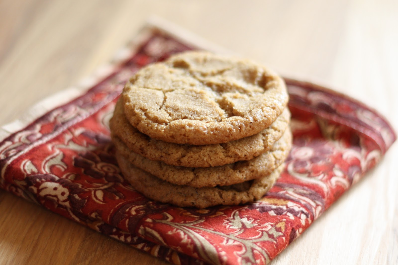 Barefeet In The Kitchen: Hot Buttered Rum Cookies