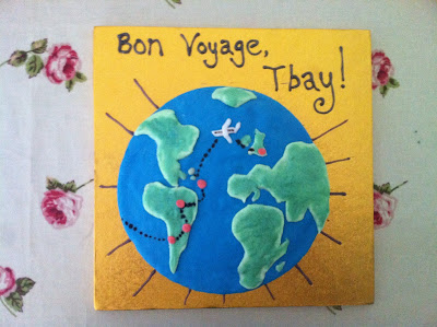 Cake Decorating Ideas Bon Voyage : RIDICULOUS CAKES: Bon Voyage Tbay!