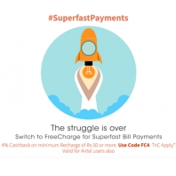 Freecharge : Get 4% Cashback on Mobile Recharge (Min. Recharge Rs. 20): BuyToEarn
