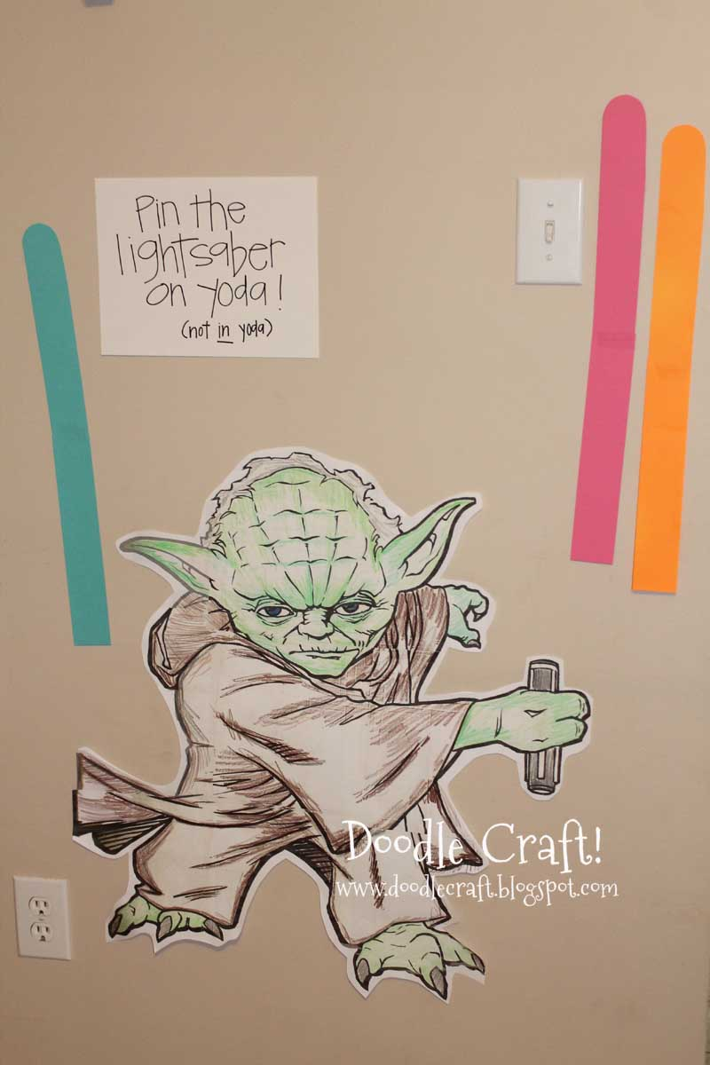 Doodlecraft Star Wars Birthday