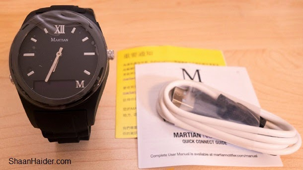 Martian Notifier Smartwatch - Hands-on Review, Specs and Features