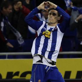 Callejn playing for Espanyol