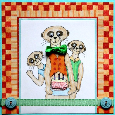Made By Alison Meerkat Birthday Cards