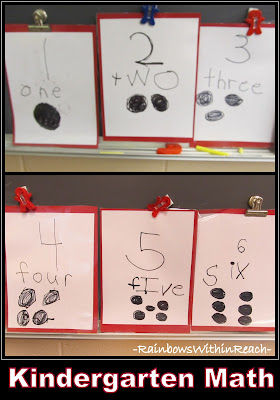 "photo of: Kindergarten ""Counting"" and Numeracy"