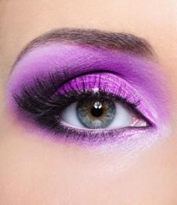 The most glamorous eye makeup