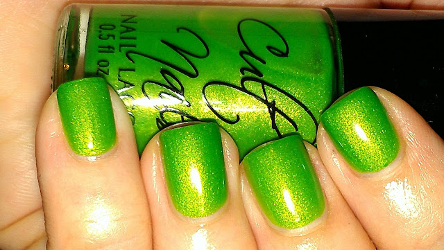 lime green jelly shimmer