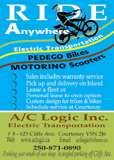 Ride Anywhere - Electric Transportation from AC Logic in the Comox Valley