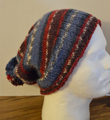 slouchy hat, slouchy beanie for sale at https://www.etsy.com/shop/JeannieGrayKnits