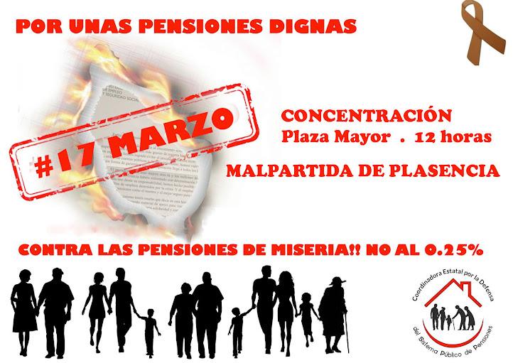 EN DEFENSA DE LAS PENSIONES PÚBLICAS