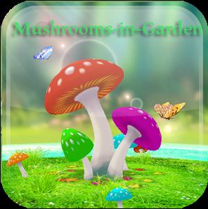 Choose World Class Amazing 3D Mushroom Garden Wallpaper APK