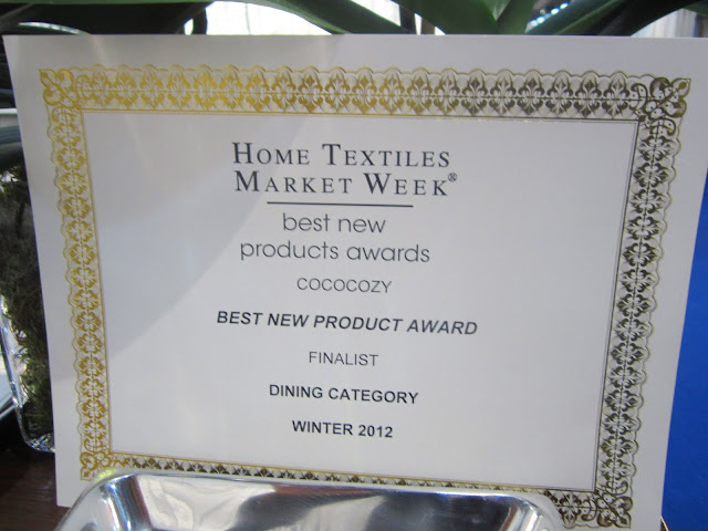 Certificate for Finalist in the Best New Products Award in the Dining Category at New York International Gift Fair