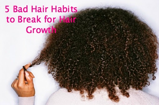 5 Bad Hair Habits to Break for Hair Growth