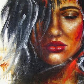Rostros Modernos Chicas Pintura Moderna