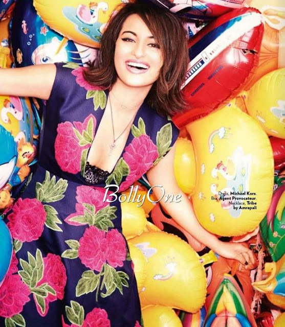 Sonakshi Sinha VOGUE Magazine May 2015