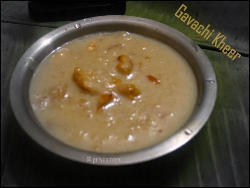 recipe: gavachi kheer recipe [38]