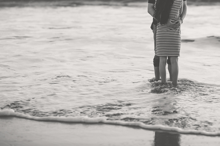 Santa Cruz wedding photographer, love, beach engagement