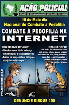 18 de Maio - Dia Nacional de Luta contra o Abuso e Exploração Sexual de Crianças e Adolescentes