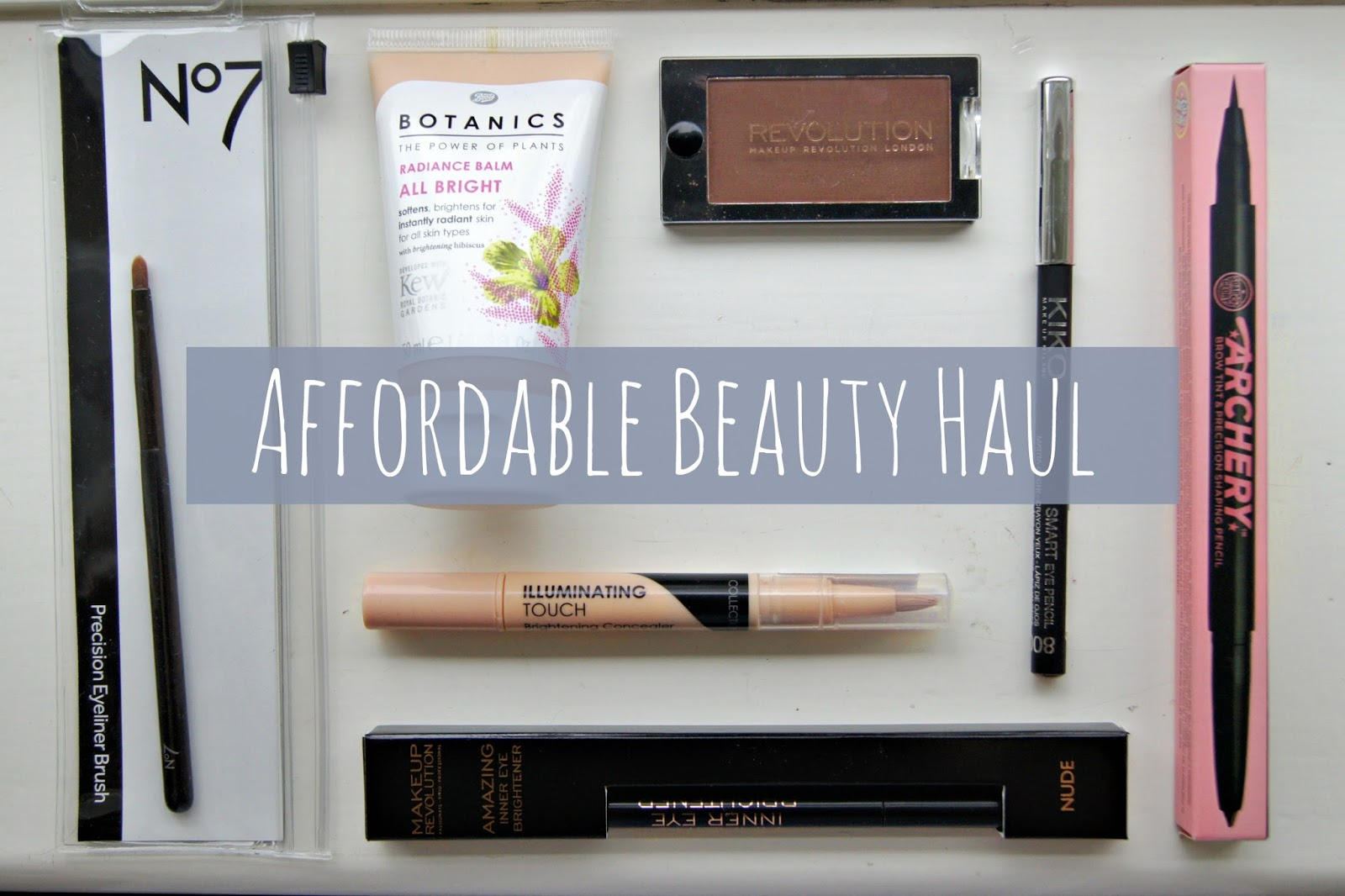 Affordable Drugstore Beauty Haul Barely There Beauty A