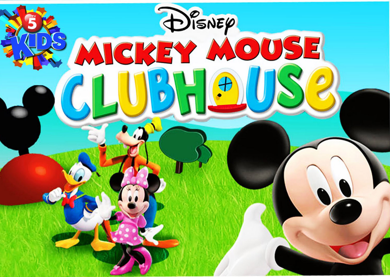 Disney Mickey Mouse Clubhouse Characters Car Interior Design