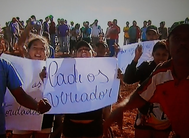 Mulheres são atropeladas durante protesto em Cristalina