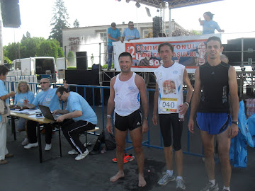 Fagaras Halfmarathon - August 18, 2012 - 2nd place . And training photos