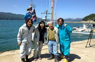 Nana Carat Dan Zenemon Yamazaki, Cerita Bak Dongeng Pasca Sunami Jepang