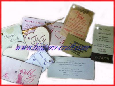 Label Ucapan Terima Kasih Souvenir Pernikahan