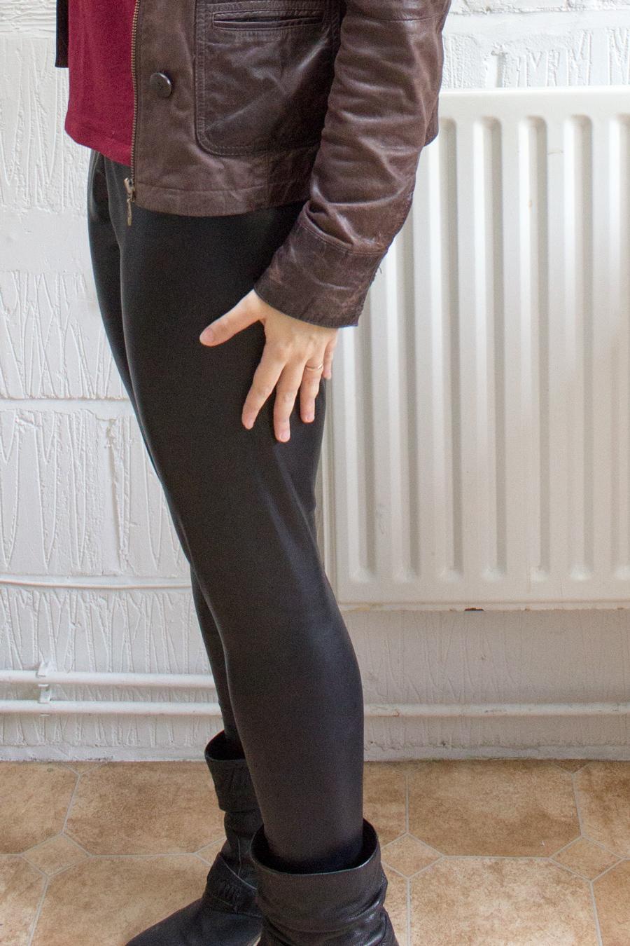 sew your own DIY leggings pattern