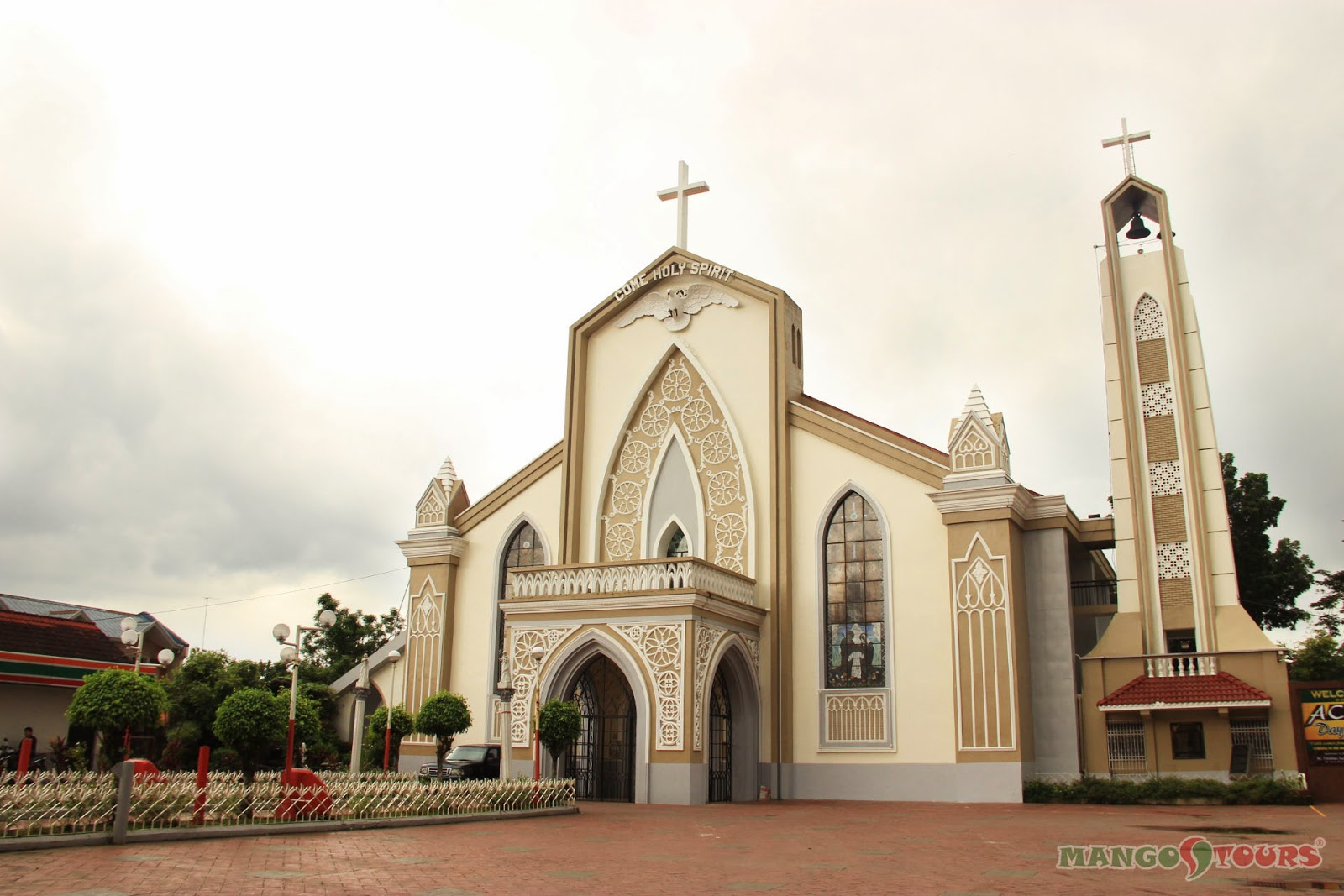 Mango Tours Microtel by Wyndham Sto. Tomas Batangas attractions Santo Tomas Catholic Church