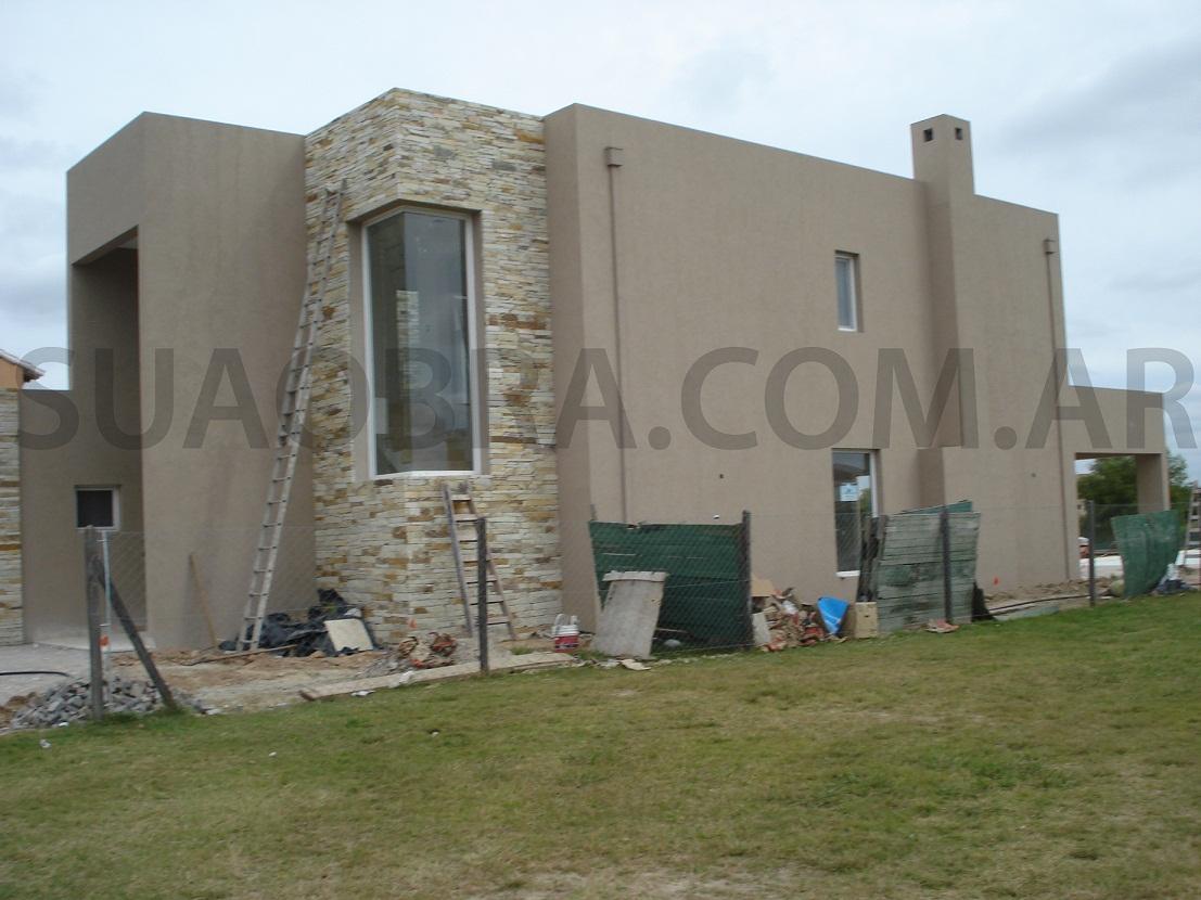 San francisco revestimiento medio para paredes exteriores - Piedra para exteriores casas ...