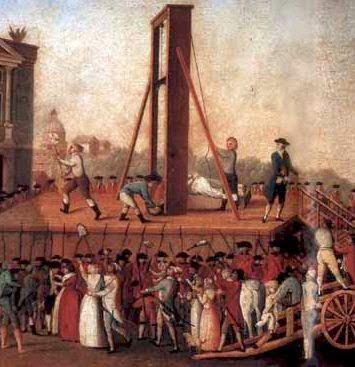 Reign of Terror French Revolution Cartoon