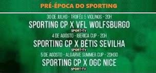 PRÉ-ÉPOCA DO SPORTING