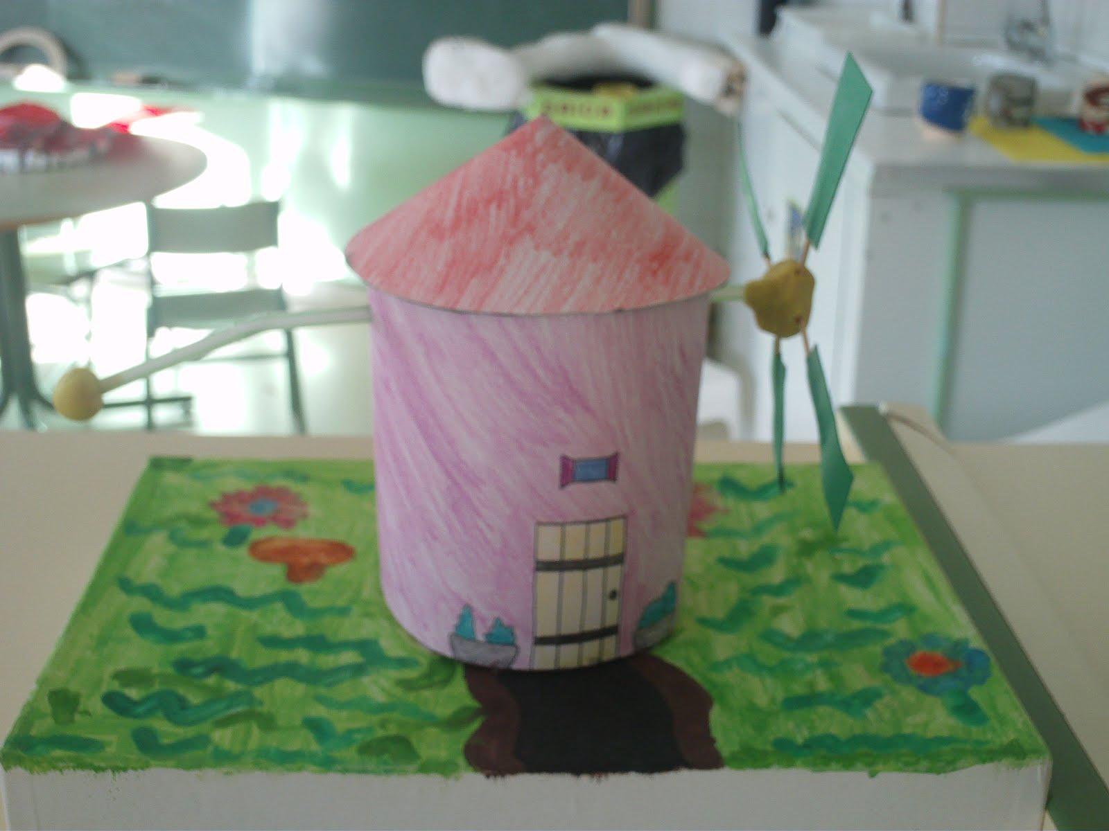 Escuela de lascuarre las m quinas for Como hacer molinos de viento para el jardin